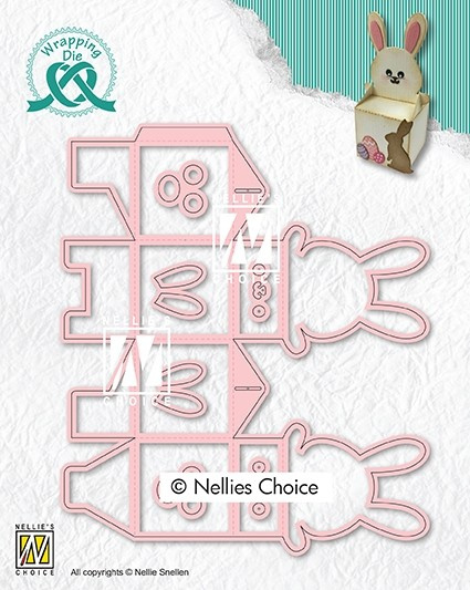 """Nellie choice WPD015 Wrapping Dies giftbox-15 """"Easter box"""""""