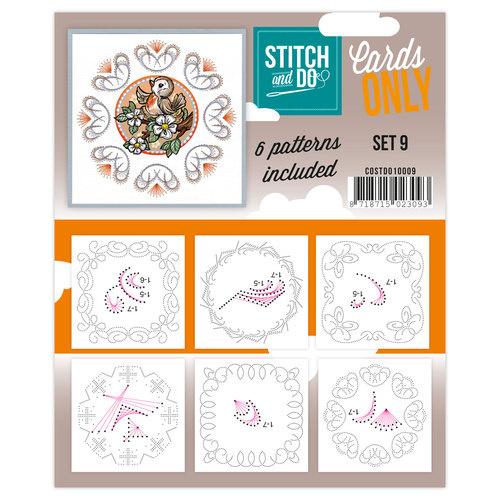 Stitch & Do - Cards only - Set 9