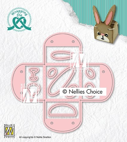 """Nellie choice WPD014 Wrapping Dies giftbox-14 """"Eggcup"""""""