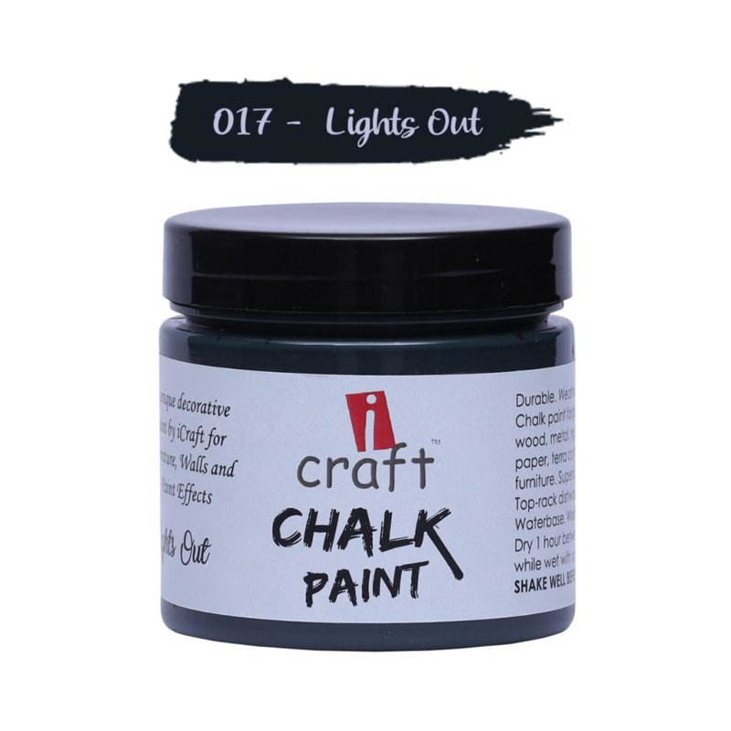 icraft chalk paint 50ml Night Out 017