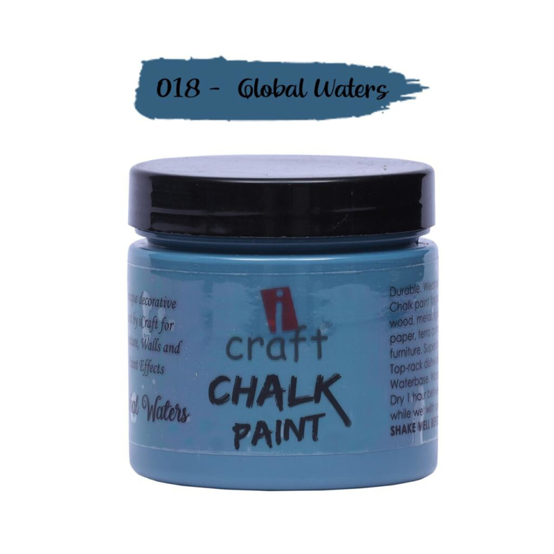 icraft chalk paint 50ml Global Waters 018