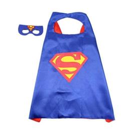Superman cape + GRATIS tas/sleutelhanger
