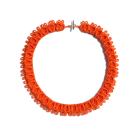 Necklace Diana in orange