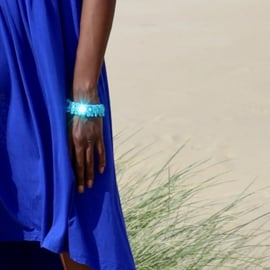 Bracelet Scarlet in turquoise