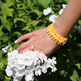 Bracelet Rose in yellow