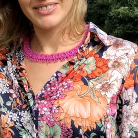 Necklace Diana in light fuchsia