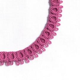 Bracelet Rose in light fuchsia