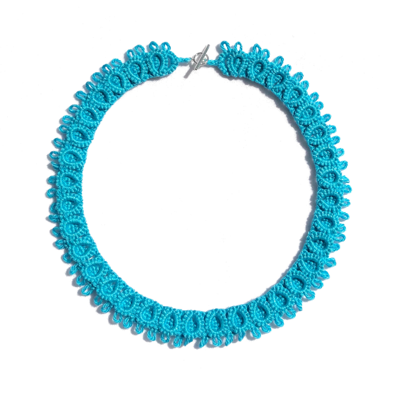 Necklace Diana in turquoise