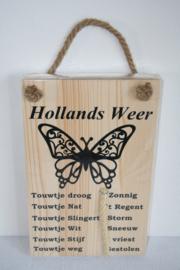 Hollands weerbericht> vlinder