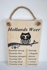 Hollands weerbericht > uil op tak