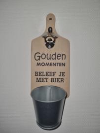 Gouden momenten beleef je met bier
