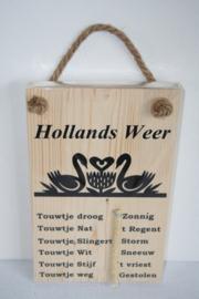 Hollands weerbericht> zwanen