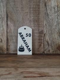 Set van 5 kaartjes  abraham