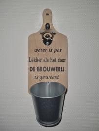 Water is pas lekker als het door de brouwerij is geweest