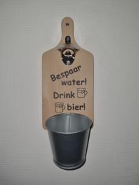 Bespaar water drink bier