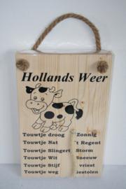 Hollands weerbericht> koe