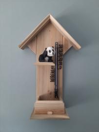 Thermometerhuisje panda