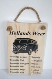 Hollands Weerbericht> VW busje