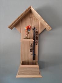 Thermometerhuisje papegaai rood