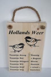 Hollands weerbericht> vogels