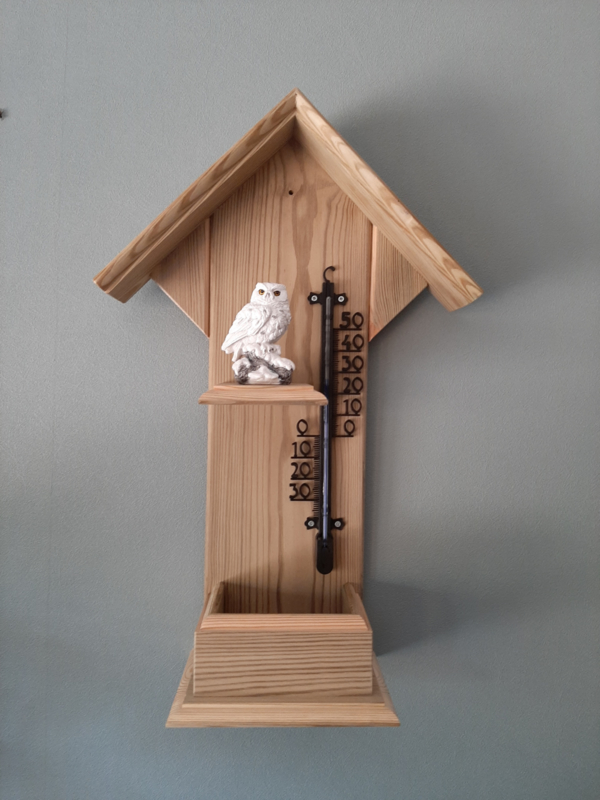 Thermometerhuisje sneeuwuil