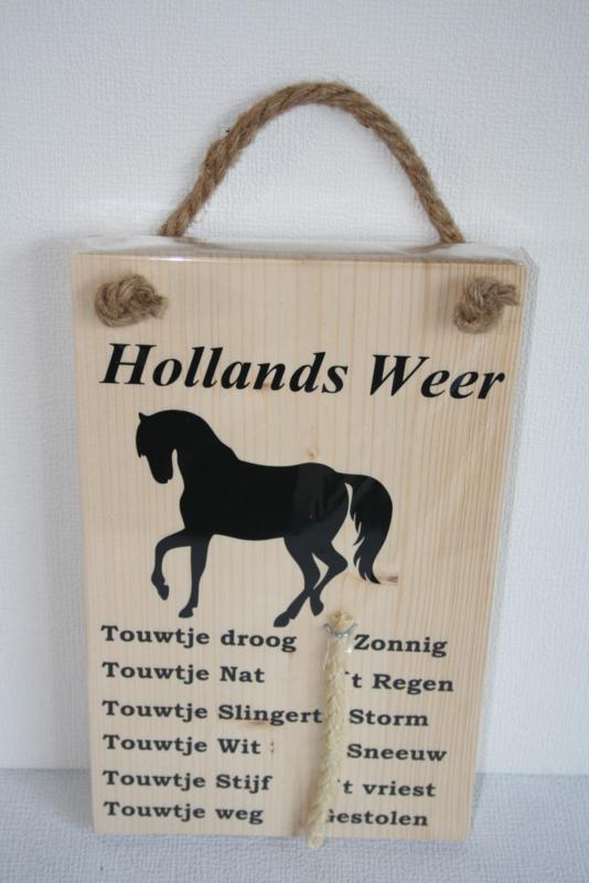 weerbericht> paard
