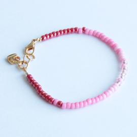 Miyuki Beads armbandje Rood