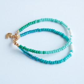 Miyuki Beads Dubbel Goen/Blauw