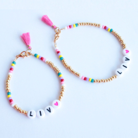 Moeder-Dochter Miyuki armbandjes