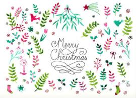 Kerst ansichtkaart