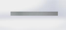Verzinkt staal kantopsluiting totaal 3 meter