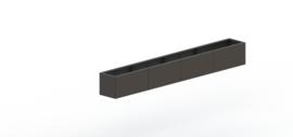 Gepoedercoat staal plantenbak Texas xxl 3200x400