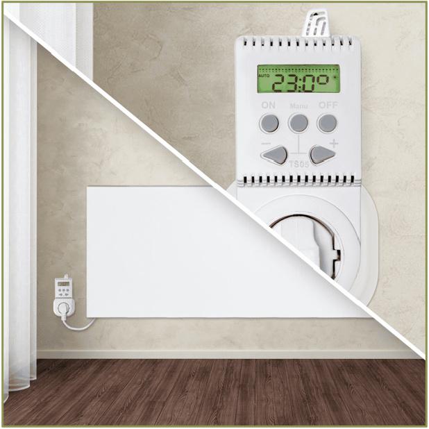 TS05 - Thermostaat met temperatuur instelling