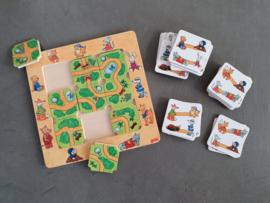Houten spelletjes en houten puzzels