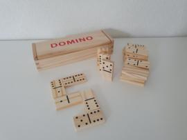 Houten domino