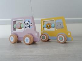 Studio Circus - houten activiteiten auto