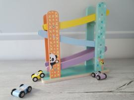 Studio Circus houten autobaan