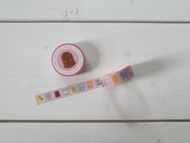 "Washi tape ""Postzegels"" - Studio Schatkist"