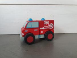 Blokkenauto brandweer