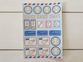 "Stickervel ""Happy Mail"" - Studio Schatkist"