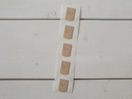 Stickers Liniaal met oogjes - Studio Schatkist