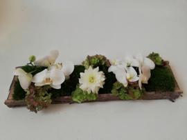 Modern bloemstuk