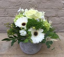 Feestelijk bloemstukje