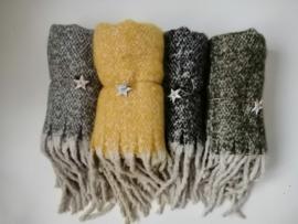 Sjaal met flosjes