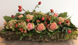 "Workshop Wo.  27/10 ""Eigentijds bloemstuk"""