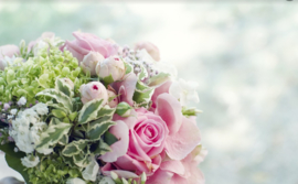 Bloemen bruidskindjes