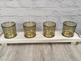 Tray met glaasjes