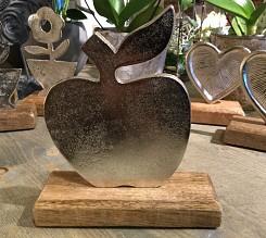 Appel op houten voet