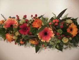 Fleurig tafelstuk