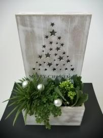 Kerstboom in houdertje